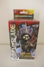 DREAMBLADE CHRYSOTIC PLAGUE booster pack 7 miniature GIOCO DI RUOLO (Cod. D5) Wi