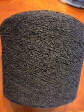 Sunray Yarn Cotton-Poly Color Black Knitting Hand/ Machine, 1lb 13oz.or 850gr
