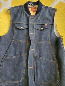 Ship John Wray Vest XL worn once denim