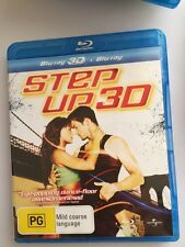 Step Up 3 3D Bluray Only No 2D Disc
