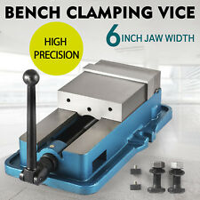 6'' Accu Lock Vise Precision Milling Drilling Machine Bench Clamp Vice UNIT