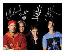 RED HOT CHILLI PEPPERS SIGNED AUTOGRAPHED A4 PP PHOTO POSTER
