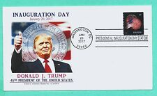 DONALD TRUMP 2017 INAUGURATION COVER, GRAEBNER CACHET W/STAR SPANGLED BANNER