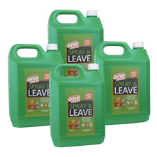 OneChem 4 x 5L Spray and Leave Concentrate Algae, Moss and Mold Killer - Remover