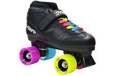 Epic Super Nitro Rainbow Indoor / Outdoor Quad Roller Speed Skates Size 3