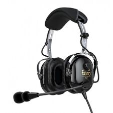 Lightweight ANR Aviation Headset with MP3 port. FARO G2 Active. Dual Plug.
