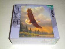 Hautman Brothers Puzzle 'Into the Light' Soaring Eagle 1000 Piece New Sealed Box