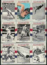1991 IMPEL U.S. OLYMPIC HALL OF FAME COMPLETE SET 1-90