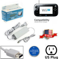 AC Charger Cord For Nintendo Wii U Gamepad Remote Controller Charging Cable
