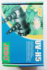 5w UV Clarifier Ultraviolet Sterilizer Aquarium 60 Gallons 200L Pond Filter NIB