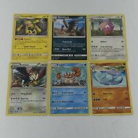 Pokemon TCG Sun & Moon XY Various Sets Lot of 6 Rare Cards Nintendo TCG New