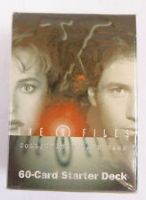 1996-THE X-FILES~ STARTER DECK~ NEW~60- COLLECTIBLE CARD STARTER DECK
