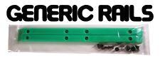 NOS Generic SIDE RAILS Skateboard Gorilla Rib Bone Style Grab Rails GREEN