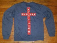 Kanye West Rare 100% Authentic Yeezus Tour Cross Pullover Sweater Sweatshirt