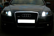 2x T10 LED Bulbs Sidelights White Xenon Free Error For Audi A6 4F C6 2004-2011