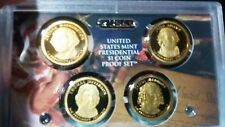 2007 United States Mint Presidential $1 Coin Proof Set with certificate