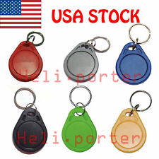 RFID 13.56Mhz IC Key Card Tags Keyfobs NFC Token For Access Control / Android