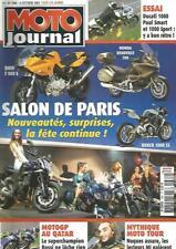 MOTO JOURNAL N°1682 BMW F 800 S / HONDA DEAUVILLE 700 / BOXER 1000 SS / DUC 1000