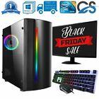 Fast Cit Gaming Pc Computer Bundle Intel Quad Core I5 8gb 1tb Win 10 2gb Gt710