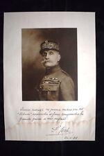 Le French général Ferdinand Foch WW1 Guerra 1914 - 1918