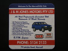 J & M JONES MOTORS PTY LTD 79 LATROBE RD MORWELL 51342133 COASTER
