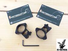 ATTACCHI ALTI JS TACTICAL PER OTTICHE SLITTA DA 11mm FORO 1 POLLICE (JS-M2007)