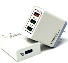 USB Fast Quick wall Charger Adapter (18W / 5,9,12V / 4A) for Android or iPhone