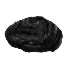 GEX Toupee Mens Hairpiece Bella Basement Wig Human Remy Hair Replacement Systems 1#