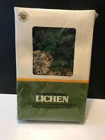 Bachmann 49-2208 Mixed Colored Lichen 2 1/4 oz For Trees Bushes Scale Models