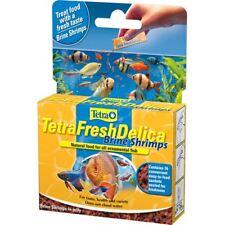 Tetra Fresh Delica Brine Shrimp 16x3g Freshwater Fish Tank Aquarium Treats