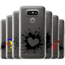 Dessana Tintenspritzer TPU Silicone Protective Cover Phone Case Cover For LG