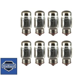 New Plate Current Matched Octet 8x Mullard Reissue KT88 / 6550 Vacuum Tubes