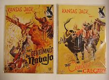 Kansas Jack (Dietsch) Nr. 1-75 kpl. + Sonderheft 1 und 2 (Z1-2)