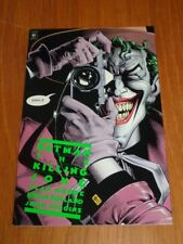 Batman Killing Joke by Alan Moore Brian Bolland Titan (Paperback)< 9781852860820