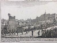 Voltaire au Panthéon 1791 Paris M de Villette Révolution Française Pont de Paris