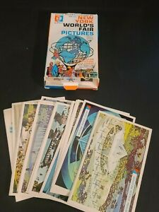 Official Souvenir, 1964-1965 New York World's Fair Pictures FlashCard Set