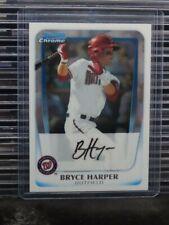 2011 Bowman Chrome Bryce Harper Prospect #BCP1 Phillies H94