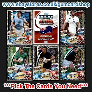 Topps Rugby Attax 2015 (100 to 199) *Please Choose Cards*