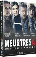 Meurtres a : Collioure & Aveyron // DVD NEUF
