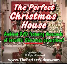 Christmas Video Family Fun Decoration DVD Villages Ornaments Trees Lights Santa