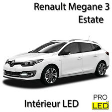 Kit éclairage ampoules à LED Blanc intérieur pour Renault Megane 3 Estate  Break