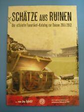 Rot-Weiss Essen,   -Der offzielle Fanartikel-Katalog der Saison 2011/2012-