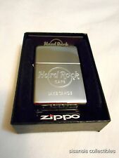 Hard Rock Zippo Lighter Chrome Lake Tahoe CA - BNIB!
