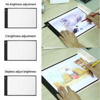 A4 USB LED Art Artist Stencil Board Display Tracing Drawing Pad Table Light Box