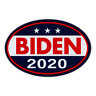 Oval Shaped Magnet - Joe Biden President 2020 - Magnetic Bumper Sticker