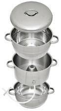 8 Qt. Victorio Stainless Steel Steam Juicer Extractor Stock Pot 5 Yr War VKP1140