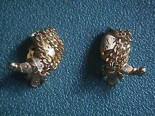 Kramer Vintage Goldtone Horn with Chains Earrings