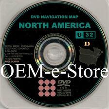 2007 2008 2009 Toyota Tundra Limited & Solara SLE SE Navigation OEM DVD Map CD