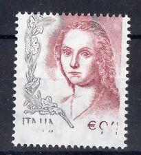 2004 REPUBBLICA DONNA NELL' ARTE € 0,41 VARIETA' INTEGRO MNH C/5250