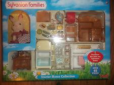 New Sylvanian Families Starter Home Collection Set With Sylvanian Rabbit Figure